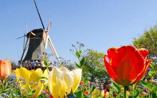 Největší květinový park Keukenhof - Nizozemsko. 3 nebo 4 denní zájezd