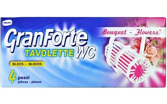 GRANFORTE WC Bouquet 4 ks GRANFORTE WC Bouquet 4 ks