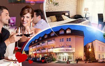 Parkhotel Morris**** Nový Bor na 3 dny pro dva! Plná penze, romantické 3chodové menu a bohaté wellness!