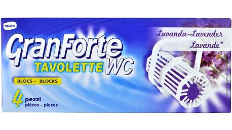 GRANFORTE WC Lavanda 4 ks GRANFORTE WC Lavanda 4 ks