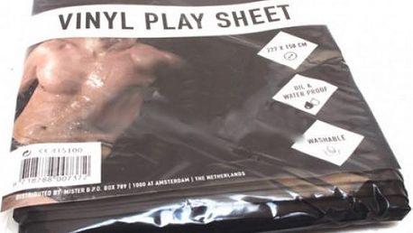 Vinylové prostěradlo na mokré postelové hrátky