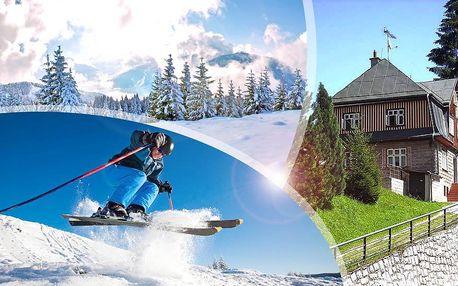 Pec pod Sněžkou a Krkonoše s polopenzí a lyžováním