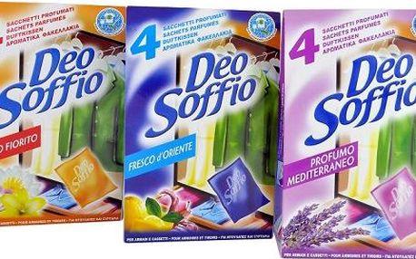 DEOSOFFIO Profumo Mediterraneo 4 ks DEOSOFFIO Profumo Mediterraneo 4 ks