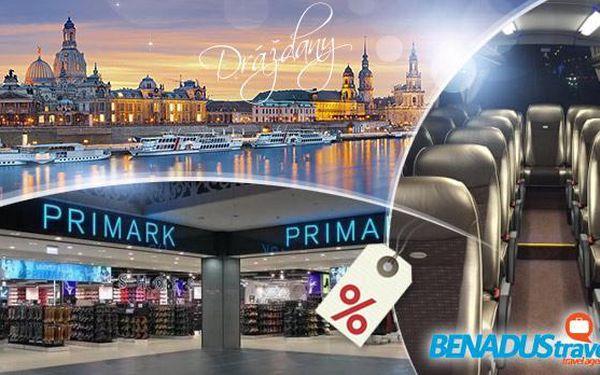 Primark a Heidenau - 1denní autobusový zájezd pro 1 os. na povánoční výprodeje do Drážďan, 4 sobotní termíny!