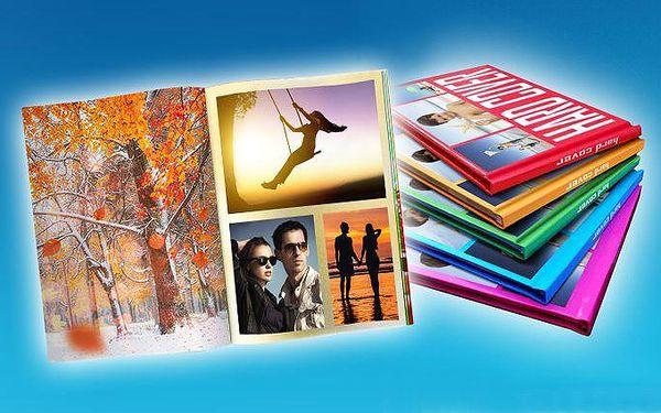 Vlastní fotosešit o 40 stranách či fotokniha o 80 až 100 stranách