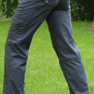 Dámské outdoorové kalhoty Loap Idea, šedé