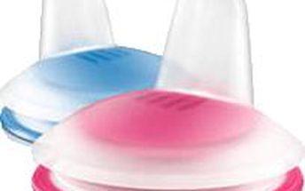 AVENT Náhradní hubičky pro první doušky Premium 2ks - růžová