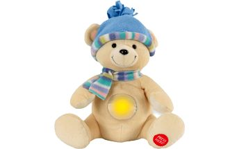 ANSMANN Plyšové zvířátko se světýlkem – medvídek TOBI