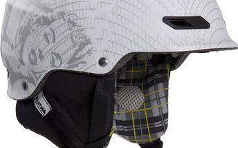 Snowboardová helma Westige Merylin Matt, bílá, L