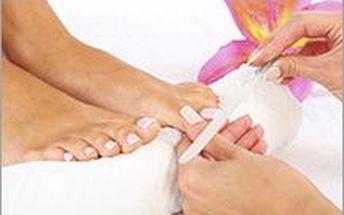 Přístrojová pedikúra s výživou na nehty nebo keratinem. Pečujte o své nožičky i v zimním období.