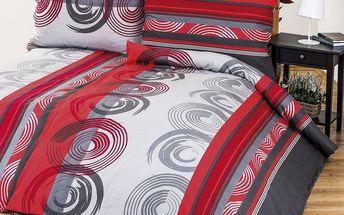 4Home Bavlněné povlečení Twister, 140 x 200 cm, 70 x 90 cm