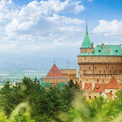 3 nebo 6 dní pro dva s polopenzí v hotelu Regia v Bojnicích na Slovensku