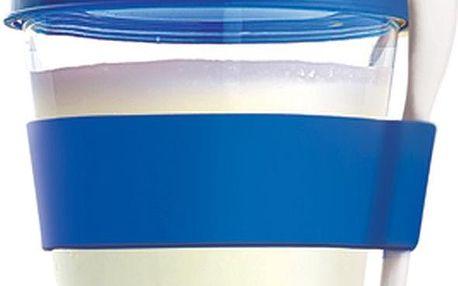 Svačinový kelímek Yo2GO, nová edice, modrý