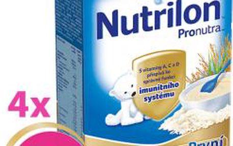 4x Nutrilon kaše rýžová 225g