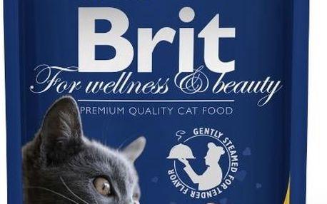 Brit Premium Cat kapsička with Chicken & Turkey 100 g