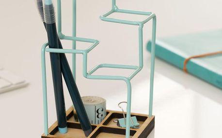 Pracovní organizér Desk Tidy, modrý