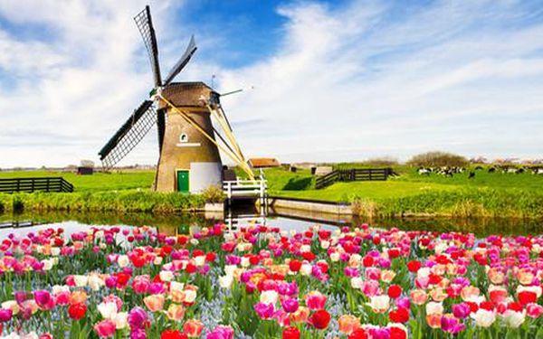 Poznávací zájezd do Holandska, na výběr dubnové a květnové víkendové termíny 2016