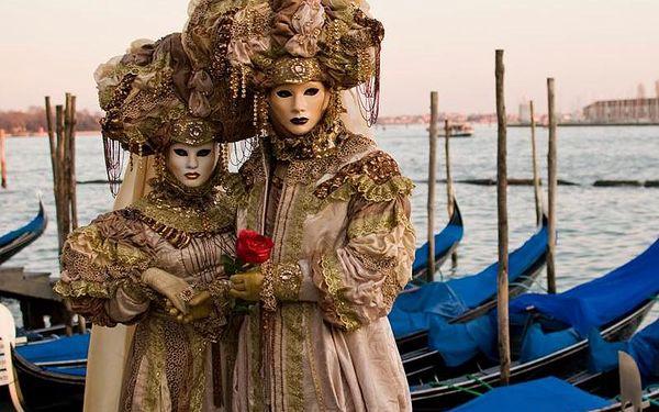 Zájezd na legendární karneval v Benátkách