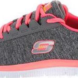 Růžovo-šedé dámské sportovní tenisky Skechers Next Generation