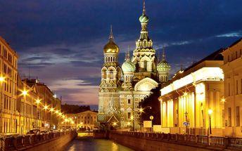 6denní zájezd do kouzelného Petrohradu
