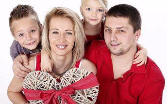 Oslavte Valentýna pěkným rodinným portrétem