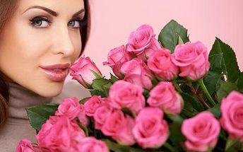 Kytice růží na MDŽ