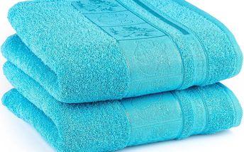 4Home ručník Bamboo Exclusive modrá, sada 2 ks