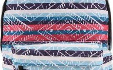 Barevný dámský batoh s proužky a vzory Rip Curl Ethnic Dome