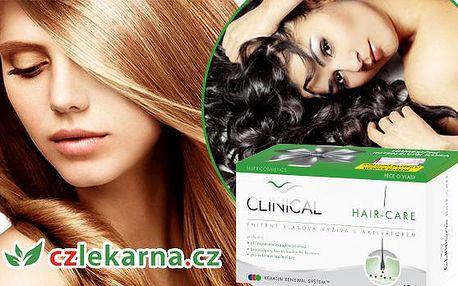 Doplněk stravy - tablety na posílení vlasů Clinical hair-care 30 tobolek nebo 60+30+dárek! Pro zdravé a krásné vlasy!