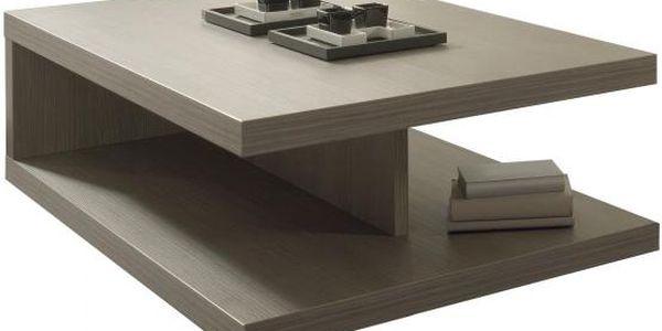Konferenční stolek Cova C076 (dub šedý)
