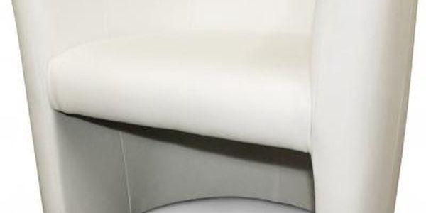 Křeslo Cube 1 - bílé