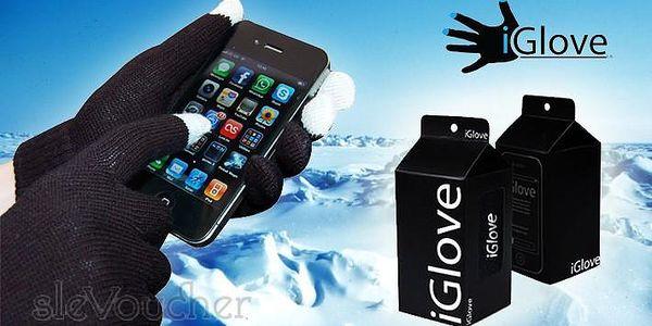 Značkové zimní rukavice iGloves pro dotykovou obrazovku Vašeho telefonu jen za 89 Kč