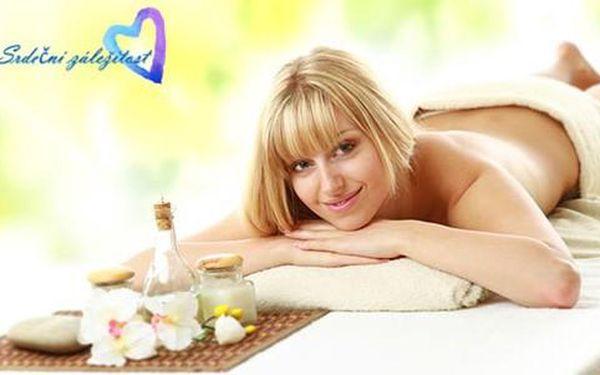Kupon na 62% slevu na aromaterapeutickou masáž v Kosmetickém ateliéru Srdeční záležitost