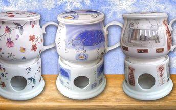 Osobní čajové servisy z porcelánu