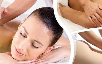 2 druhy masáží od nevidomých masérů v Kladně. 30 nebo 50 minutová masáž v salonu Bodyreflex!