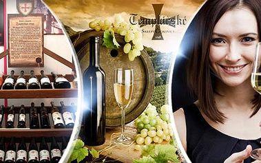 Víno z Templářských sklepů - sekt nebo archivní Veltlín, Müller Thurgau či Rulandské! Osobní odběr v Praze