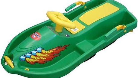Acra Snow Boat plastové řiditelné zelené