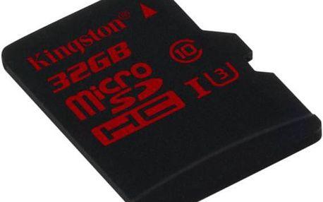 Kingston MicroSDHC 32GB UHS-I U3 (90MB/s) (SDCA3/32GBSP)