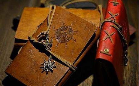 Cestovateľský denník v štýle VINTAGE pre každého dobrodruha.