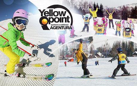 Privátní lyžařská výuka pro děti na 1 hodinu + vstup do parku a zapůjčení vybavení - Herlíkovice a Kašperky!