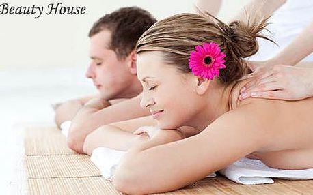 74% sleva na párovou masáž či masáž pro jednotlivce včetně zábalu
