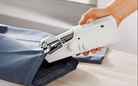 Praktický ručný šijací stroj Handy Stitch na batérie