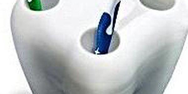 Držák kartáčků - Zub