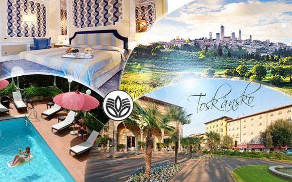 Toskánsko - 6denní pobyt pro 2 osoby ve 4* hotelu s polopenzí, bazénem a zapůjčením kol, platí 1 rok!