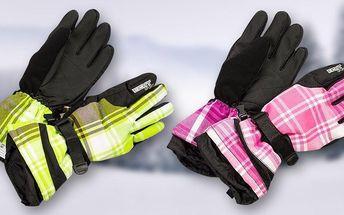 Dámské rukavice na lyže a snowboard