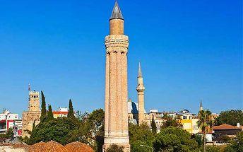 8denní zájezd do Antalye s letenkou i ubytováním