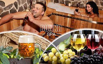 Luxusní pivní lázeň nebo vinná lázeň pro 2 osoby v délce 60 minut s konzumací džbánku piva či litru vína v Pardubicích.