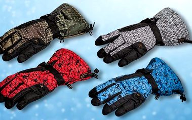 Pánské rukavice na lyže a snowboard