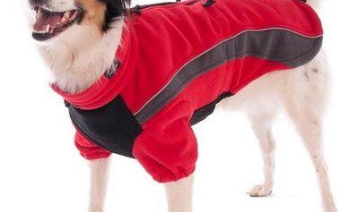 Rogz SKINZ obleček PolarSkin červený vel. 62 cm