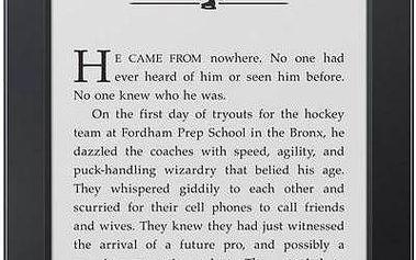 Amazon Kindle 6 Touch černá + Doprava zdarma